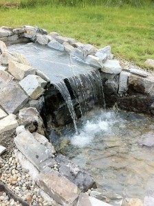 custom water feature